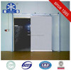 Blast freezer cold room with insuation material