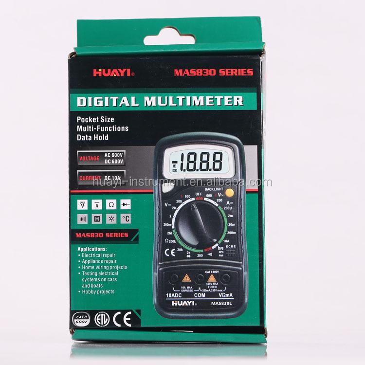 Original Mastech Mas830b Pocket Size Digital Multimeter,Cheapest Dmm ...