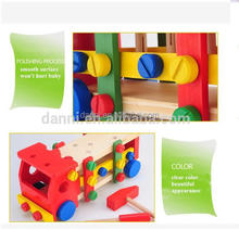 HOT Intelligent Wholesale Wooden Children Model Car Toy Wooden Car Selling Baby Wooden Toy Diy