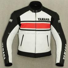 Yamaha motogp Cuerojaqueta de corrida de moto jaqueta de couro auto raça chaqueta de motociclista nueva chaqueta de protección
