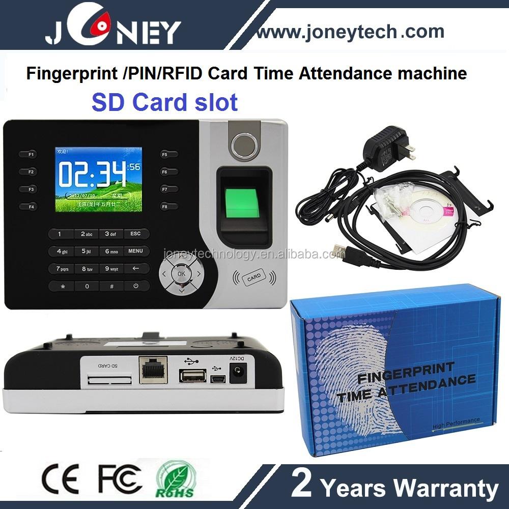 fingerprint time card machine