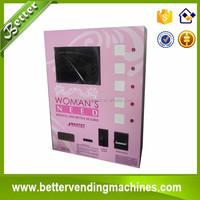 Mini automatic cigarette vending machine for cigarette/ e-cigarette/condom/tissue