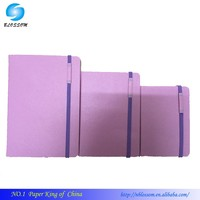 2015 A5 Elastic band Sleeve with pen case note book