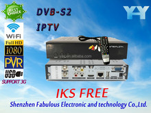 Full HD wireless and ree to air internet receiver to enjoy the world's major channel