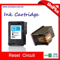 Inkjet cartridge reset chips for hp 61 used hp printer ink cartridge