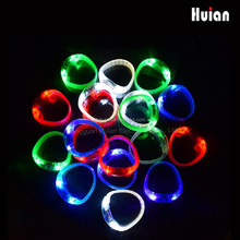 motion activated light up green led flashing