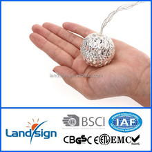 Cixi Landsign solar string lights series 4.5m 30 leds mini christmas light bulbs for holiday/garden decoration