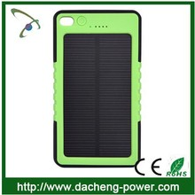 8000mAh waterproof solar mobile phone charger solar battery charger for phone