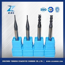 excellent quality for metal bar cutting machine tools and carbide end mill for ultra hard material