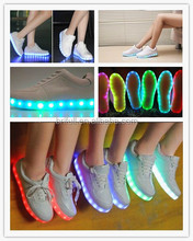 Multicolor change for led flashing shoes