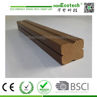 wpc decking flooring material/wood plastic composite outdoor joist/decking beam