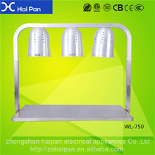 Restaurant food heat press machine for sale Household blender Electrical Food processor/ food warmer lamp WL-750