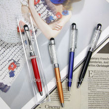 Your logo colorful crystal ball pen for gift
