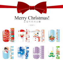 Merry Christmas! 2015 new christmas design full nail art polish sticker