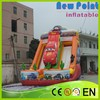 New Point pvc trampoline Car Inflatable Slide for kids