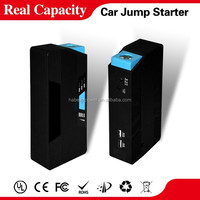 2015 hotsales Capacity 15000mAh portable jump starter 12v/24v jump starter car battery charger for all gasoline and diesel car