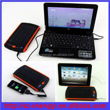 6v/9v/12v 23000mah solar sun charger mobile and pc
