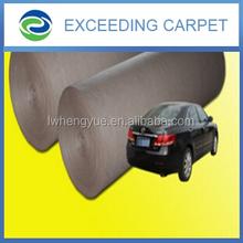 100% polyester cheap non woven auto car carpet