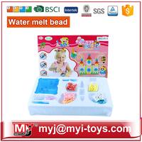 JM021814 guitar shape kids DIY funny Aqua beads box kit with tools,magic beads box,aqua beads for kids