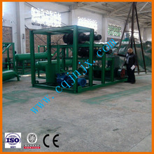 ZSA used waste black mobil oil refinery/regeneration/recyclable machine