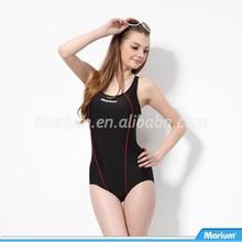Young Girls Women Triangle One Piece Swimming Wear