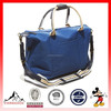 Soft Weekender Travel Duffel Bag for Overnight with Leather Handle