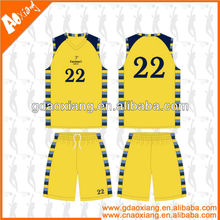 A-league quality Sublimation Newly Basketball training wear