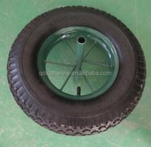 16 inch 4.00-8 rubber wheel