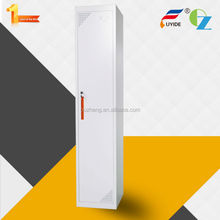 Professional design cheap gym single door metal locker clothes cabinet