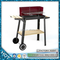 High value long burning time park simple charcoal bbq grill with price