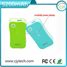 Factory price innovative product 5200mah power bank universal portable cell phone charger, cell phone super charger