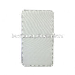 DIY 2D sublimation leather flip case for samsung grand2 7106
