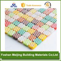 white polyester mesh tube bow for paving mosaic
