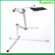 Height adjustable floor stand for laptop/tablet pc