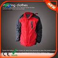 Hj08 7.4v aquecida corta-vento impermeável marcas americanas jaqueta de inverno