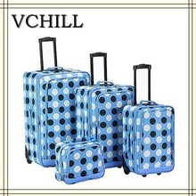 Delicately fashionable Finished Unique Luggage Sets/suitcase