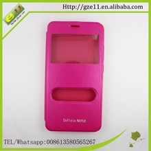 Supply all kinds of mobile phone shell mobile leather case for infinix x551