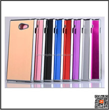 Free Sample 2015 Luxury Steel metal aluminum hard case for sony xperia m2