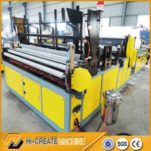 toilet and kitchen rolls making machine type tissue paper converting machinery