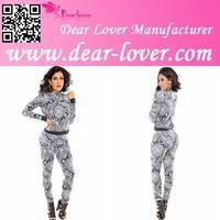 Spring Retro Paisley Print Fashion Pant Set Ladies Casual Wear