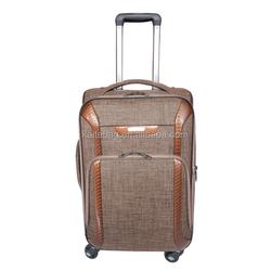 hard luggage set custom suit case shopping trolley bag