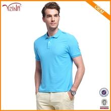 Jinhua Clothing Manufacturer YIZINA Wholesale 100% Cotton Blank Mens Polo T Shirt