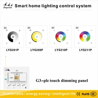 2015 smart home system led glass touch paneldimming/PLC Controller dimmer light switch Controller