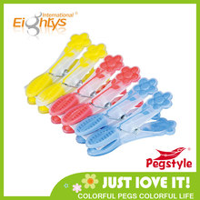 TPR soft grip large plastic clothes pegs