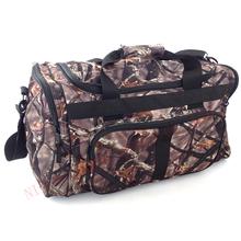 Camo large capacity hunting duffle gear bag gym cheer bag traveling handle bag