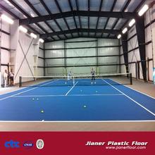 Indoor Tennis Volleyball Court Sport Flooring, Portable PVC Basketball Flooring