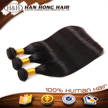 100% Natural raw unprocessed brazilian remy human hair extension