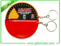 souvenir hockey puck charm key chain