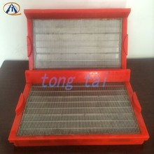 Stainless steel slit polyurethane and polyurethane screen