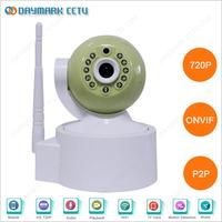 1.0 megapixel two way audio wifi ip camera night vision webcam laptop
